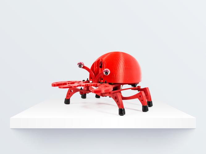 3D Printed PrintBot Crab by BQ 3D | Pinshape