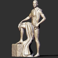 Small Man statue 3D Printing 219157