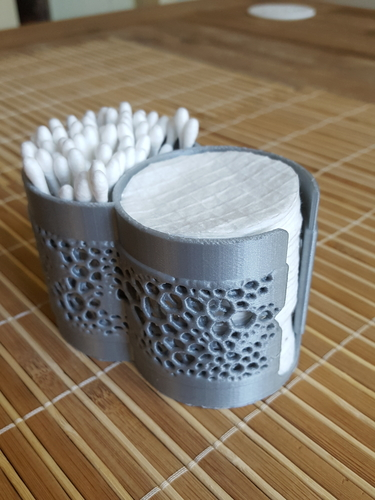 Container for cotton buds & pads v2 3D Print 219282