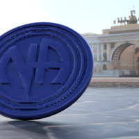 Small Narcotics Anonymous coaster 3D Printing 219290