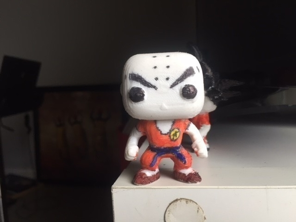 Medium krilin funko pop 3D Printing 219348