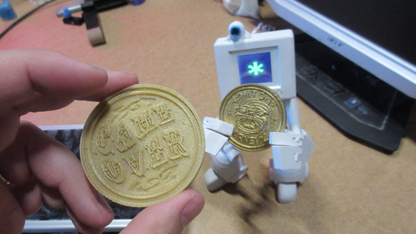 Medium Carnevil Coin 3D Printing 21947