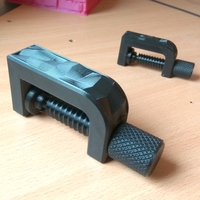 Small Clamp with low-poly inlay \ dual extruder 3D Printing 219566
