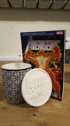Marvel comics coaster 3D Print 219597