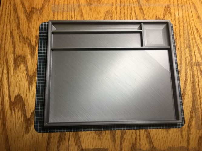 Airbrush Cleaning Tray 3D Print 219665