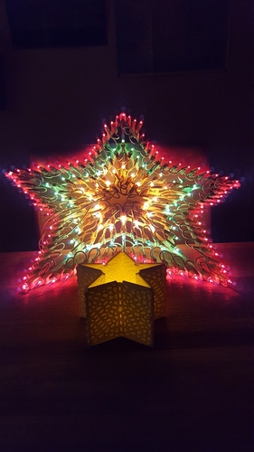 Christmas thealight holder (electronic) 3D Print 219868