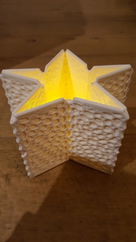 Christmas thealight holder (electronic) 3D Print 219872