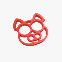 Small Brass knuckles cat 3D Printing 219968