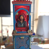 Small Zoltar 3D Printing 22006