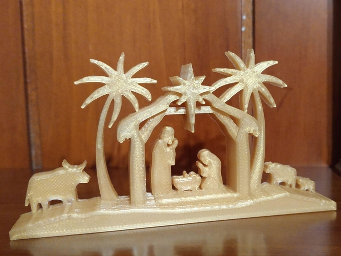 Christmas Nativity Scene 3D Print 220203