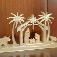 Small Christmas Nativity Scene 3D Printing 220203