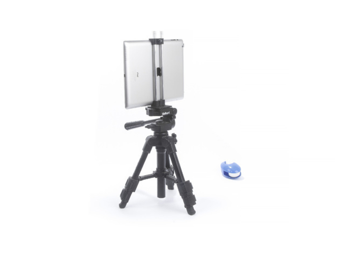 Clamp for iPad 4 on a tripod 3D Print 220223