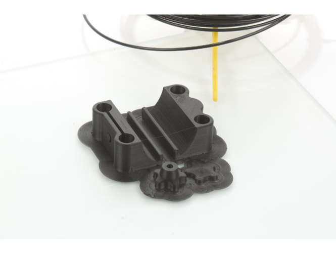 Clamp for iPad 4 on a tripod 3D Print 220229
