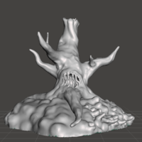 Small CURSED/ROTTEN TREE 3D Printing 220270