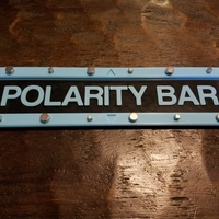 Small Magnetic Polarity Bar  3D Printing 220300