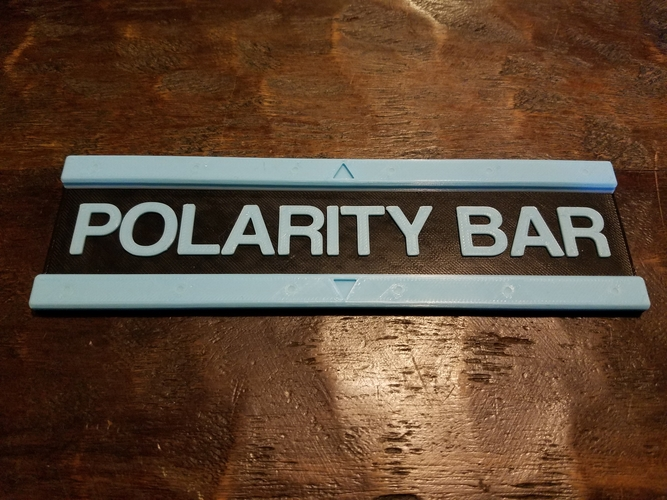 Magnetic Polarity Bar  3D Print 220301