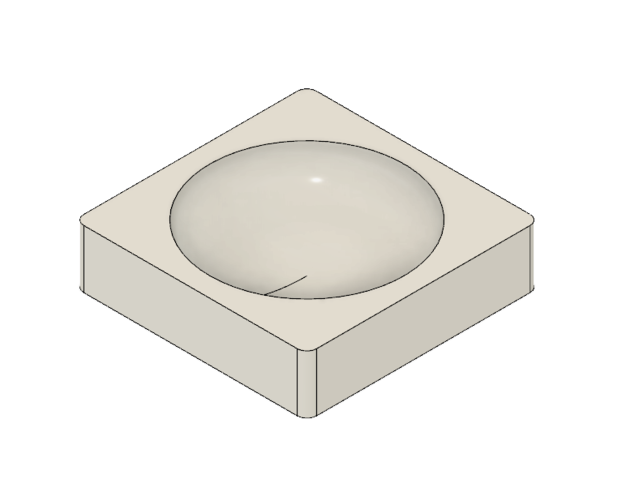 Rounded Office Containers 3D Print 220571