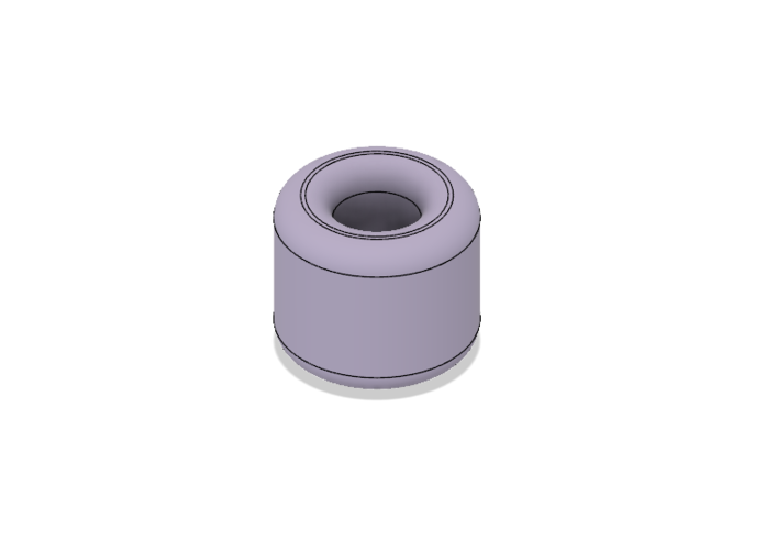 Free Rounded Napkin Ring 3D Print 220574