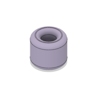 Small Free Rounded Napkin Ring 3D Printing 220574