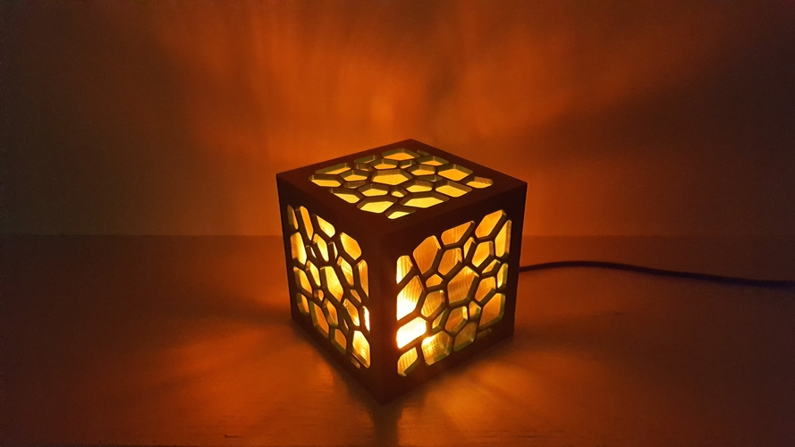 Cell Structure Lamp 2 3D Print 220660
