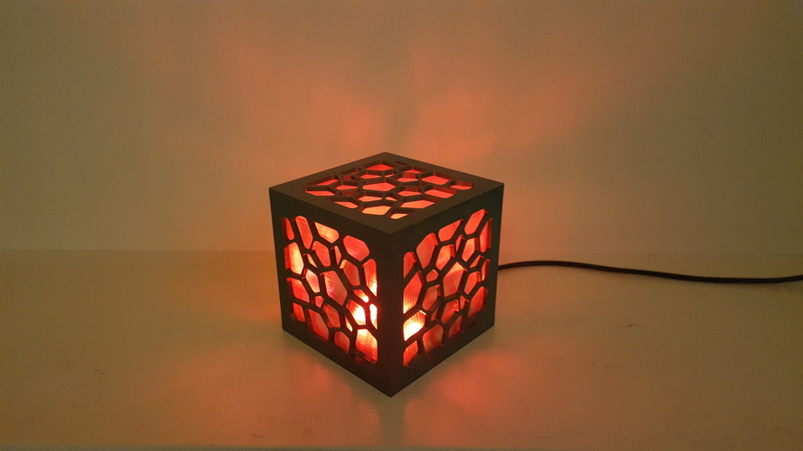 Cell Structure Lamp 2 3D Print 220661