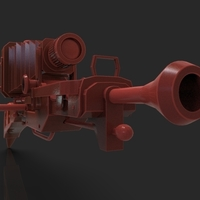 Small Steampunk Camera Sniper Rifle 3D Printing 220696