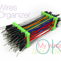 Small Wires Organizer 3D Printing 220722