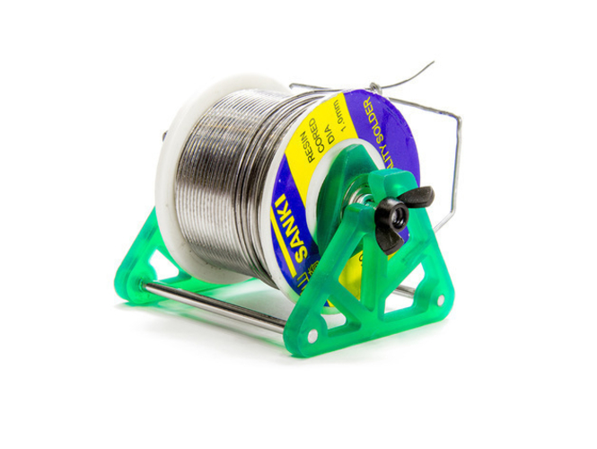 Solder Spool Holder with Masked SLA 3D Printing Technology 3D Print 220743