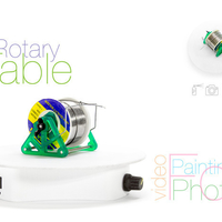 Small Rotary table for painting 3D Printing 220761