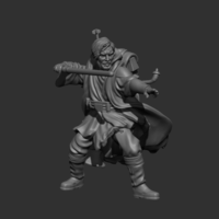 Small Exiled Master 3D Printing 220958