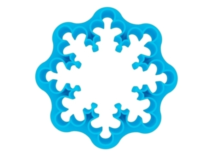 Coockie Cutter - Snowflake 3D Print 221017