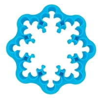 Small Coockie Cutter - Snowflake 3D Printing 221017