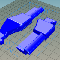 Small Kia Ceed roller blind holder: P+L 3D Printing 221026