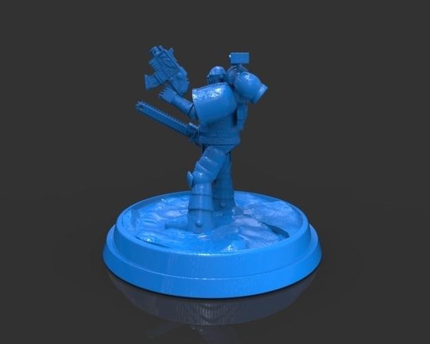 Space Marine Armor 40K Figurine
