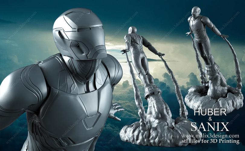 Ironman Infinity Gauntlet 3D Print — BCMA