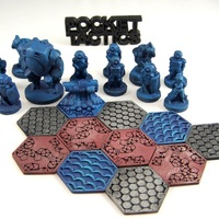 Small Pocket-Tactics Dominion Strike Force 3D Printing 2212