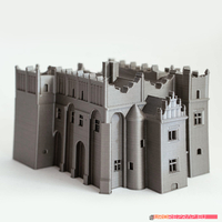 Small Medieval-renaissance castle - no supports needed 3D Printing 221317