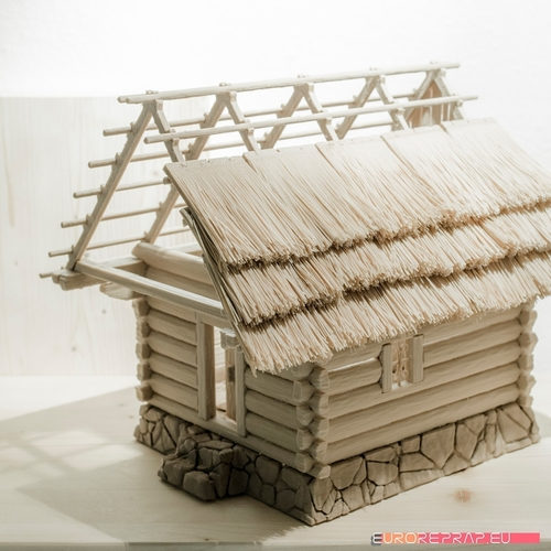 3D printed house - log cabin - cottage 3D Print 221351