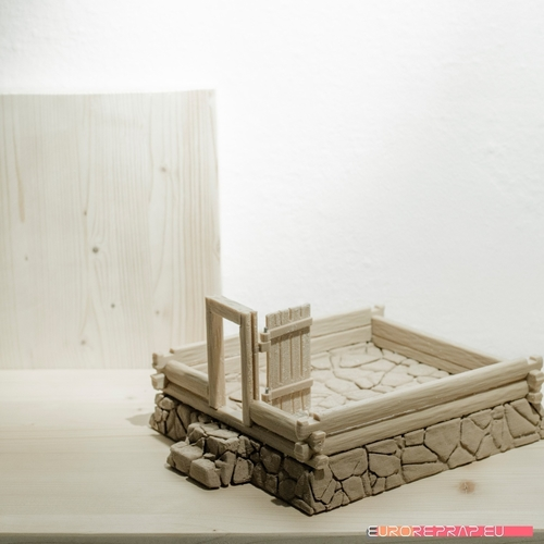 3D printed house - log cabin - cottage 3D Print 221353