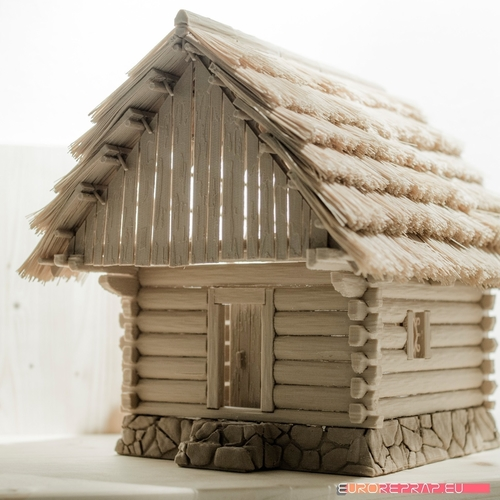 3D printed house - log cabin - cottage 3D Print 221355