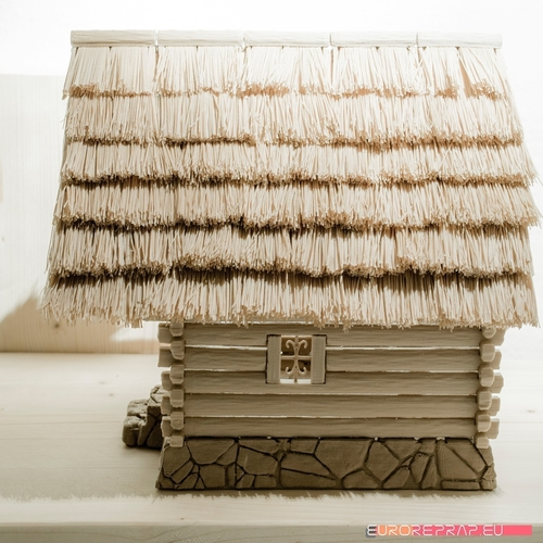 3D printed house - log cabin - cottage 3D Print 221356