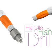 Small Handle for Hand Drill 3D Printing 221560