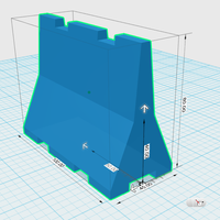 Small Road Barriers 1:10 v.1 3D Printing 221575
