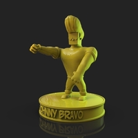 Small Johnny Bravo 3D Printing 221810