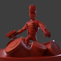 Small Duke Nukem 3D Printing 221894