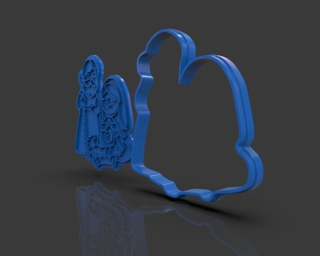 Nativity Christmas Cutter 3D Print 221910