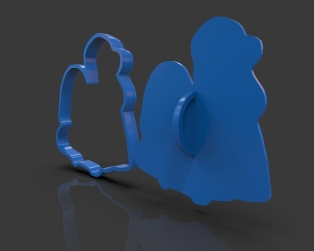 Nativity Christmas Cutter 3D Print 221914