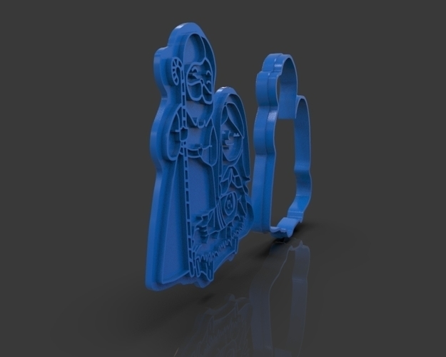 Nativity Christmas Cutter 3D Print 221916