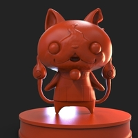 Small Jibanyan Yokai Watch 3D Printing 221983