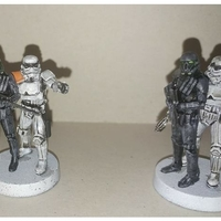 Small mortis soldiers 3D Printing 221991